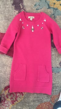 Pink long-sleeved dress 2388 mi