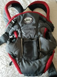 baby's black and red Jeep breathable carrier Arlington, 22201
