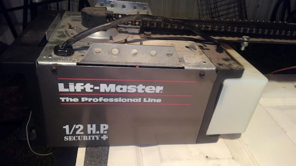Used Lift Master 1 2 Hp Garage Door Opener For Sale In Kansas City