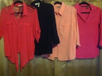 four assorted-color shirts Brentwood, 11717