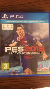 pes18 Ps4 oyun CD'sii