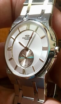 ONISS ON367-M STAINLESS STEEL WITH DIAMONDS LADIES FITS FOR BAND SeaTac, 98188