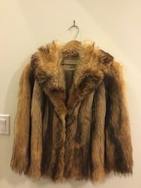TANUKI FUR COAT LADIES