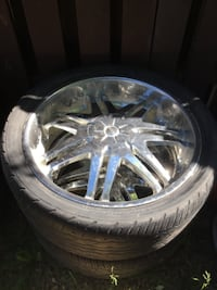 "24"" rims Chevy / gmc Calgary"