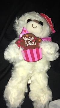 white and black bear plush toy Hagerstown, 21740