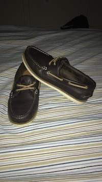 pair of black leather loafers Gainesville, 20155
