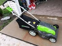 green and black 3n1 GreenWorks 21 inch mower. Frederick, 21702