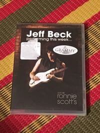 New Jeff Beck Live at Ronnie Scott's DVD