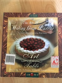 The Art of Making Great Pastries, CD ROM Mississauga Mississauga, L5L 5P5