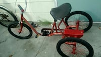red and black trike