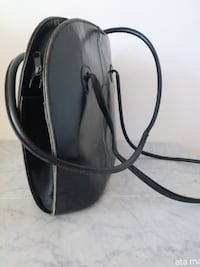 Patent Leather Black Purse Surrey