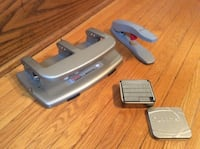 Home & Office Essentials: 3-Hole Punch, Stapler, Staples London, N6B 2W5