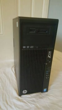 Hp Z220 game ready pc, win 7 licenced 5702 km