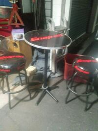 two black-and-red bar stools Phoenix, 85033