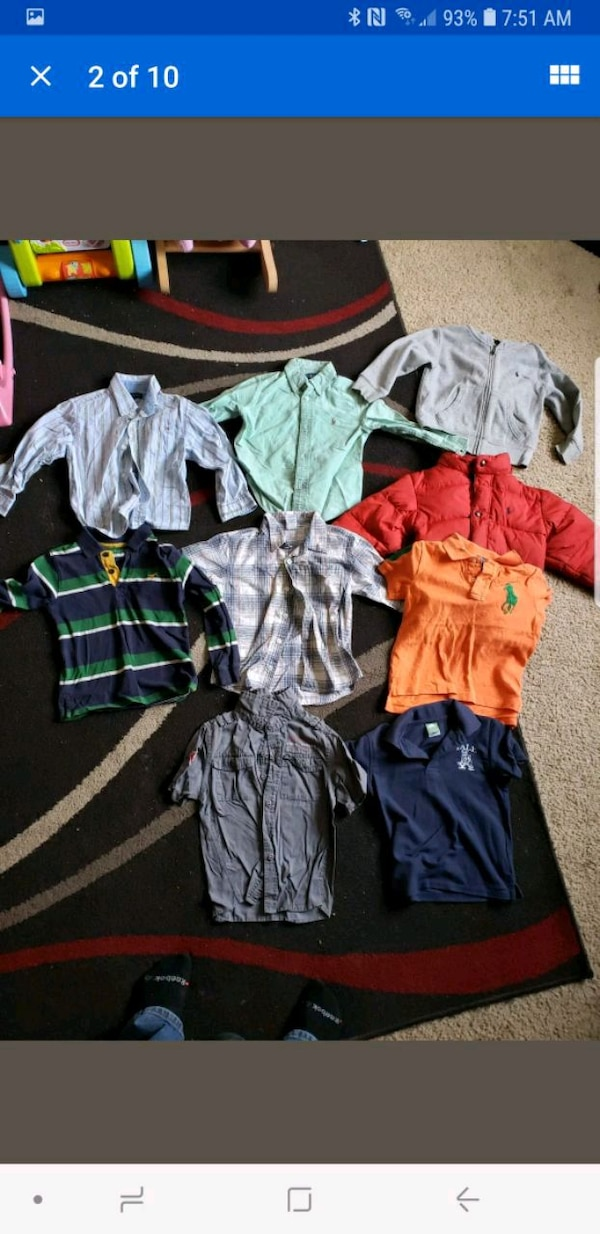 3 T Coat polo shirts and more