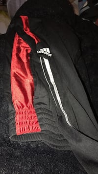 black and red Adidas sweatpants Wilmington