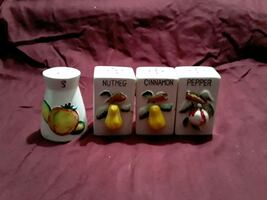 Vintage spice shakers