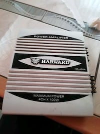 ANFİ HARWARD POWER AMPLIFIER