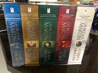 Brand new Game of Thrones Book Set