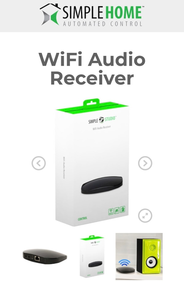 New Airplay wireless audio Wifi receiver for iPhone tablet smartphone iPad Pro mini