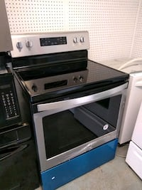 black and gray induction range oven Fort Lauderdale, 33314
