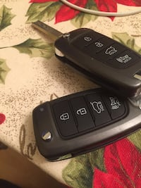 Car remote from a Hyundai Santa Fe Herndon, 20170