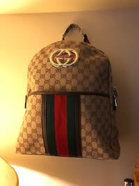 brown and black Gucci backpack Bunker Hill, 25413