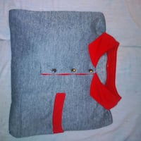 Red colared light grey unisex 3quarter lg sleeve London, N6H 1M9