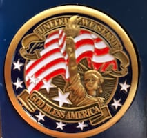Military Challenge coin (new)