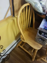 brown wooden windsor chair Burnaby, V5C 5G4