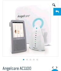 Angelcare AC 1100 Baby Monitor with Sensor Pad - Used