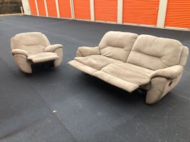 Recliner Couch and Chair Sofa Set *FREE DELIVERY*