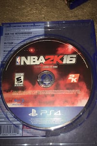 NBA2k 16 or CALL OF DUTY black ops 3  PS4 Sterling, 20164