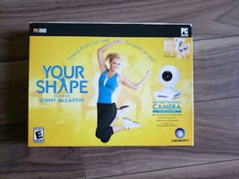 Fitness DVD and webcam