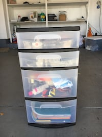 Scrapbooking storage drawers