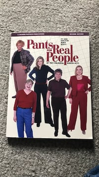 Great book on sewing pants that fit Napa, 94559