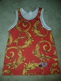 red and green floral tank top Frederick, 21703