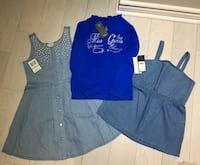 Girls new with tags guess clothes size 8 Toronto