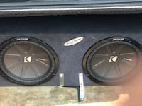 black Kicker subwoofer with enclosure Bakersfield, 93307