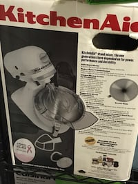 Used, like new. kitchen aid mixer. $150 Worcester