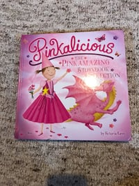 Pinkalicous hard cover book