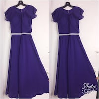 Women's purple sleeveless dress Ottawa