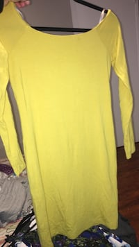 Yellow off the shoulder dress El Monte, 91732