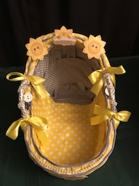 Decorative baby basket for baby shower 56 km