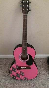 Pink and black girls classical guitar Lincoln, 95648