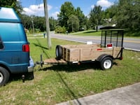red and black utility trailer Spring Hill, 34606