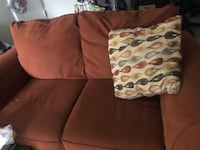 Burgundy Couch and Loveseat Glen Burnie, 21060