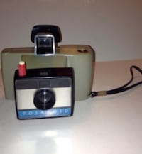 Vintage Polaroid Swinger Sentinel Land Camera with Wrist Strap London