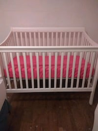 baby's white wooden crib Silver Spring, 20906