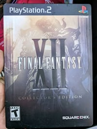FINAL FANTASY XII for PS2. Collector steelbook! Oshawa, L1K 2T9